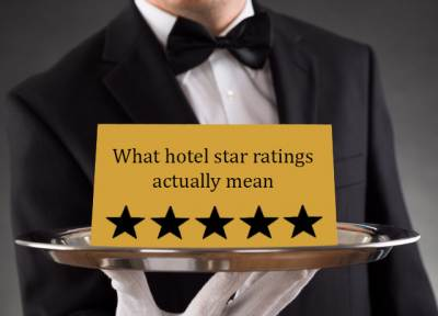 What hotel star ratings actually mean
