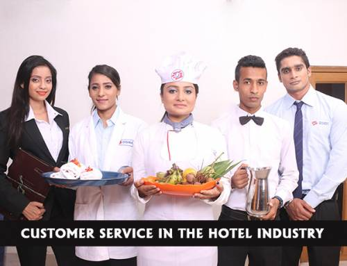 Why is customer service in the hotel industry everything?