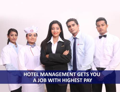 Which course in hotel management gets you a job with highest pay?