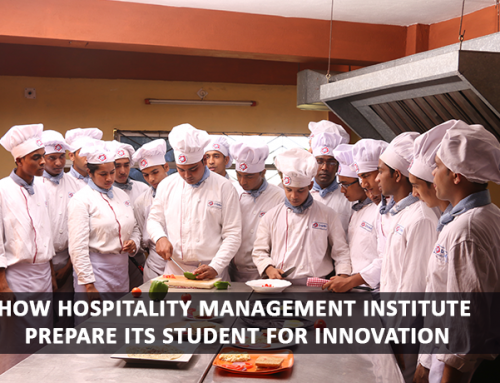 How Hospitality Management Institute prepare its student for Innovation