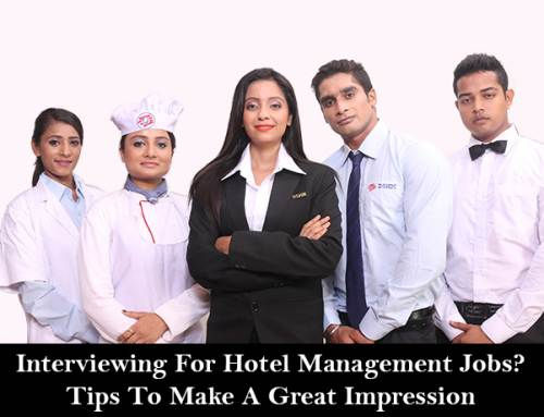 Interviewing For Hotel Management Jobs? Tips To Make A Great Impression