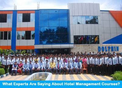 What Experts Are Saying About Hotel Management Courses?